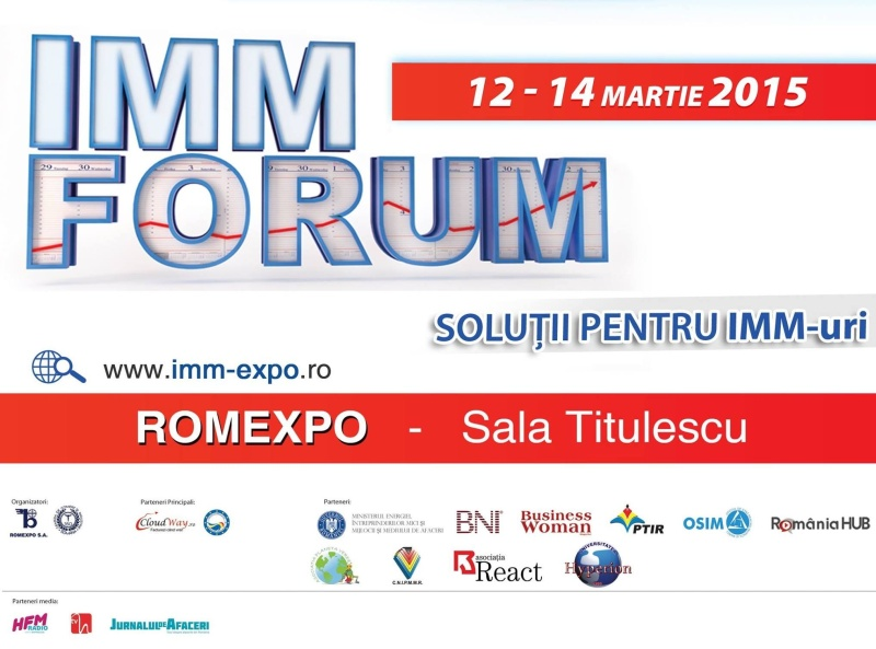 Universitatea Hyperion participă la IMM FORUM 2015